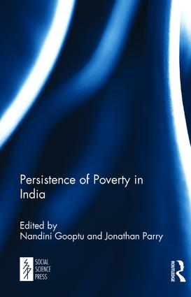 Persistence of Poverty in India: 1st Edition (Hardback) book cover