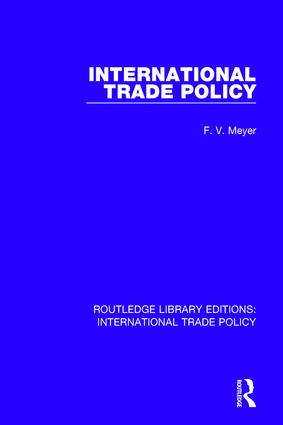 International Trade Policy book cover