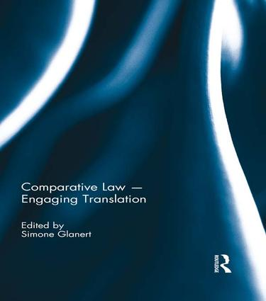Comparative Law - Engaging Translation book cover