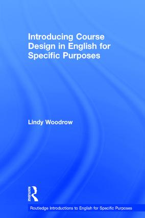 Introducing Course Design in English for Specific Purposes book cover