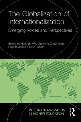 The Globalization of Internationalization: Emerging Voices and Perspectives (Paperback) book cover