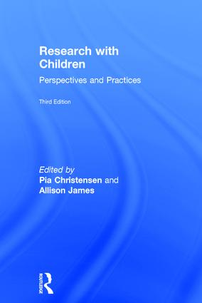 Research with Children: Perspectives and Practices, 3rd Edition (Hardback) book cover