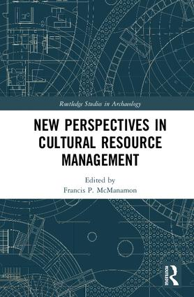 New Perspectives in Cultural Resource Management: 1st Edition (Hardback) book cover