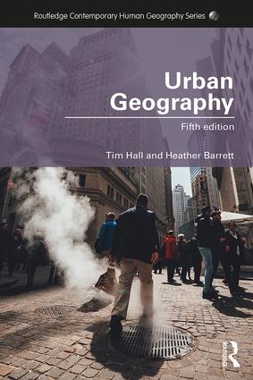 Urban Geography: 5th Edition (Paperback) book cover