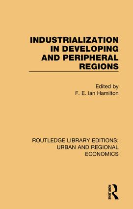 Industrialization in Developing and Peripheral Regions book cover