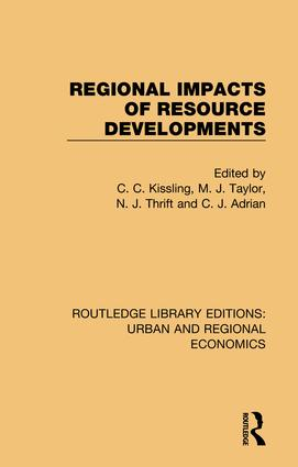 Regional Impacts of Resource Developments book cover