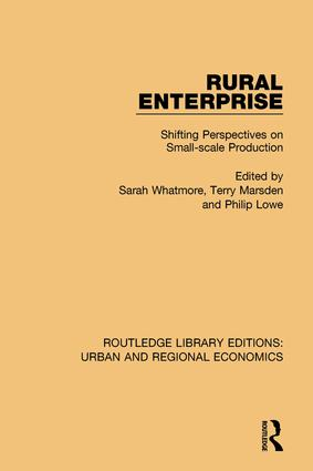Rural Enterprise: Shifting Perspectives on Small-scale Production book cover