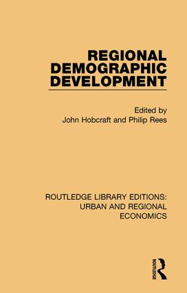 Regional Demographic Development book cover