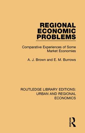 Regional Economic Problems: Comparative Experiences of Some Market Economies book cover