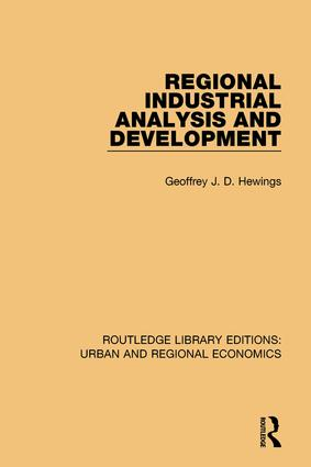 Regional Industrial Analysis and Development book cover
