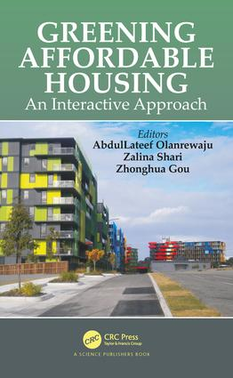 Greening Affordable Housing: An Interactive Approach book cover