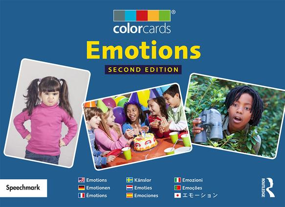 Emotions: Colorcards: 2nd Edition, 2nd Edition (Flashcards) book cover