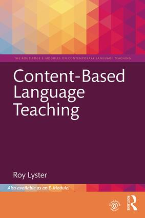 Content-Based Language Teaching (Paperback) book cover
