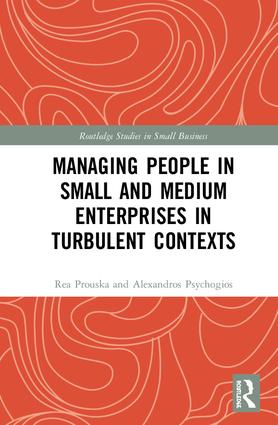 Managing People in Small and Medium Enterprises in Turbulent Contexts book cover
