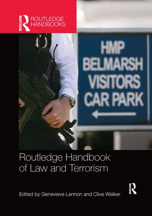 Routledge Handbook of Law and Terrorism: 1st Edition (Paperback) book cover