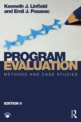 Program Evaluation: Methods and Case Studies book cover