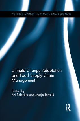 Climate Change Adaptation and Food Supply Chain Management: 1st Edition (Paperback) book cover