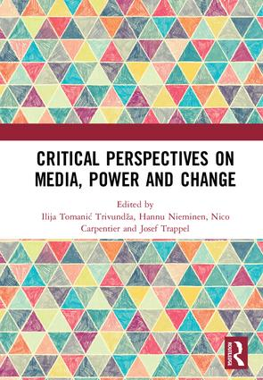 Critical Perspectives on Media, Power and Change (Hardback) book cover
