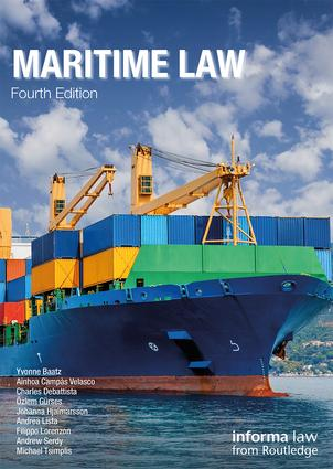 Maritime Law book cover