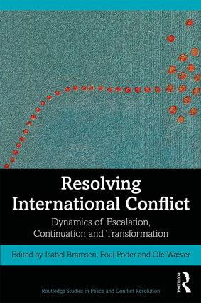 Resolving International Conflict: Dynamics of Escalation, Continuation and Transformation book cover