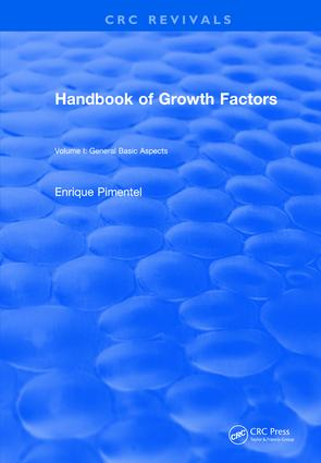 Handbook of Growth Factors (1994): Volume 1, 1st Edition (Hardback) book cover