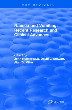 Nausea and Vomiting: 1st Edition (Hardback) book cover