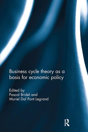 Business cycle theory as a basis for economic policy book cover