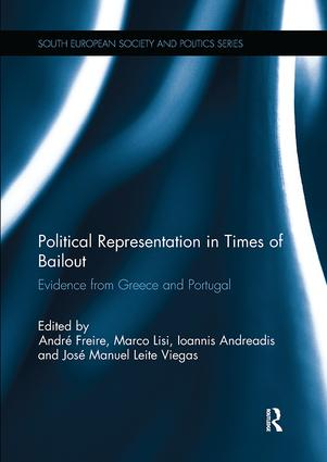 Political Representation in Times of Bailout: Evidence from Greece and Portugal book cover