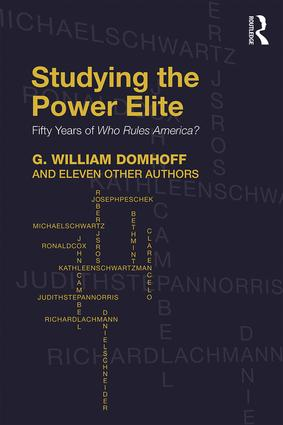 Studying the Power Elite: Fifty Years of Who Rules America? book cover