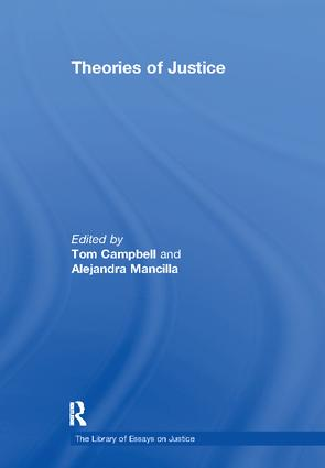 Theories of Justice: 1st Edition (Paperback) book cover