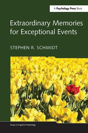 Extraordinary Memories for Exceptional Events book cover