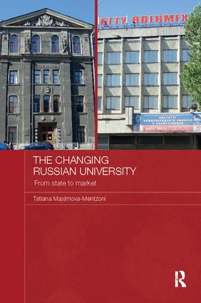 The Changing Russian University: From State to Market book cover