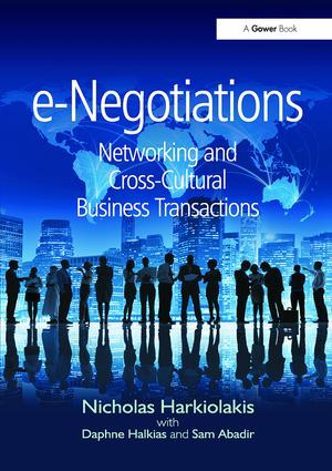 e-Negotiations: Networking and Cross-Cultural Business Transactions, 1st Edition (Paperback) book cover