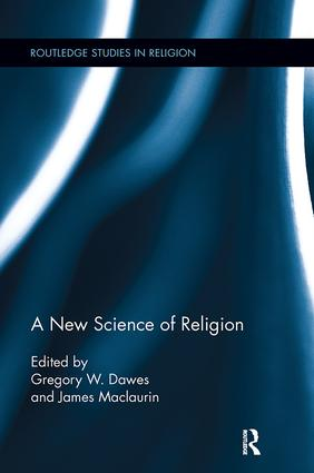 A New Science of Religion: 1st Edition (Paperback) book cover