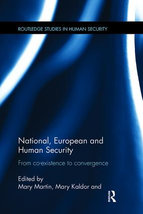 National, European and Human Security: From Co-Existence to Convergence book cover