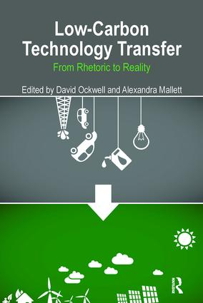 Low-Carbon Technology Transfer: From Rhetoric to Reality book cover