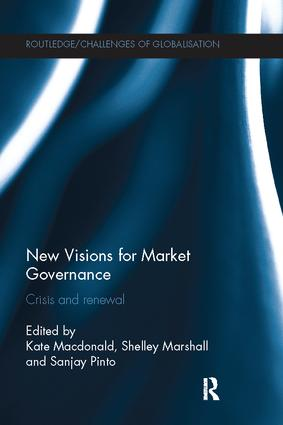 New Visions for Market Governance: Crisis and Renewal book cover