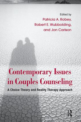 Contemporary Issues in Couples Counseling: A Choice Theory and Reality Therapy Approach book cover