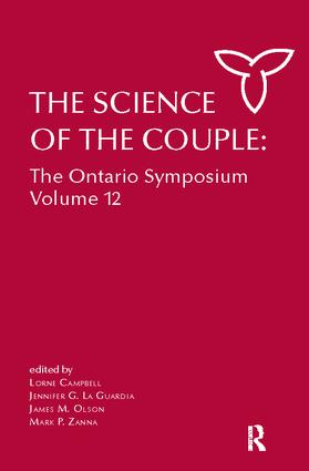 The Science of the Couple: The Ontario Symposium Volume 12, 1st Edition (Paperback) book cover