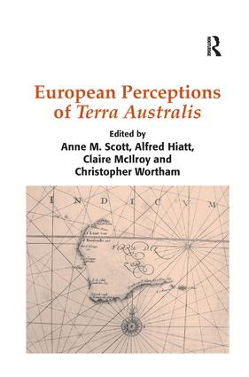 European Perceptions of Terra Australis book cover