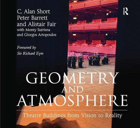 Geometry and Atmosphere: Theatre Buildings from Vision to Reality book cover