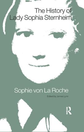 The History of Lady Sophia Sternheim: 1st Edition (e-Book) book cover