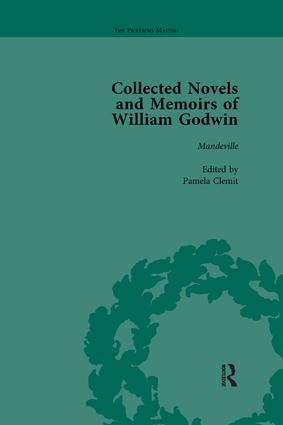 The Collected Novels and Memoirs of William Godwin Vol 6: 1st Edition (e-Book) book cover
