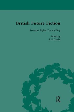 British Future Fiction, 1700-1914, Volume 4: 1st Edition (Paperback) book cover