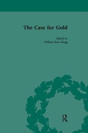The Case for Gold Vol 1: 1st Edition (Paperback) book cover