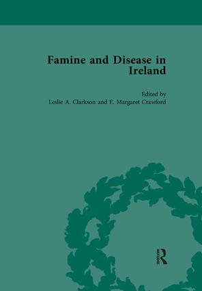Famine and Disease in Ireland, vol 5: 1st Edition (Paperback) book cover