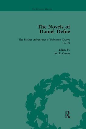 The Novels of Daniel Defoe, Part I Vol 2: 1st Edition (Paperback) book cover