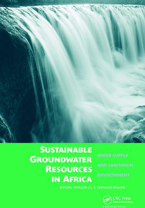 Sustainable Groundwater Resources in Africa: Water supply and sanitation environment, 1st Edition (Paperback) book cover