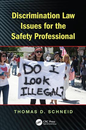 Discrimination Law Issues for the Safety Professional: 1st Edition (Paperback) book cover