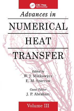 Advances in Numerical Heat Transfer, Volume 3: 1st Edition (Paperback) book cover